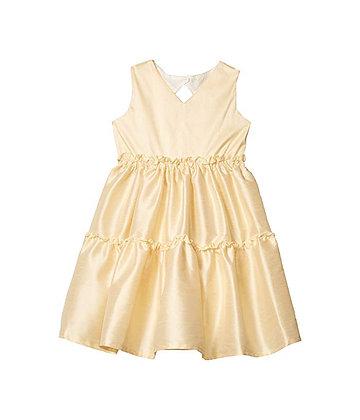 Three Tier Dress, Ivory