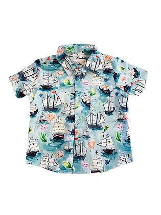 Boy Collared Shirt, Ships