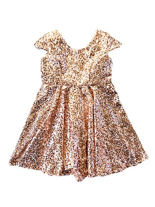 Celine Dress, Gold