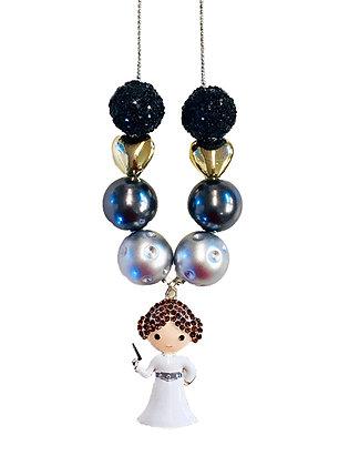 Space Princess Charm Necklace