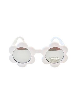 Baby Flower Sunglasses, White