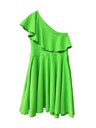 Zoe Dress, Lime