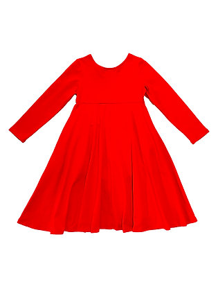 Emma Dress, Red