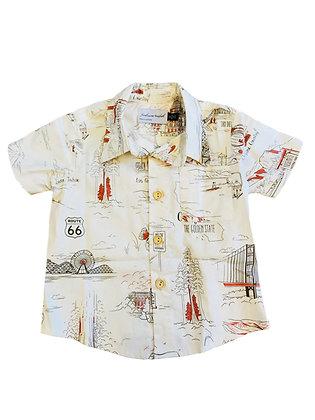 Boy Collared Shirt, Cali
