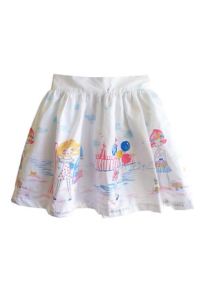 Seaside Gathered Skirt