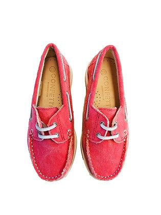 Confetti Boat Shoe