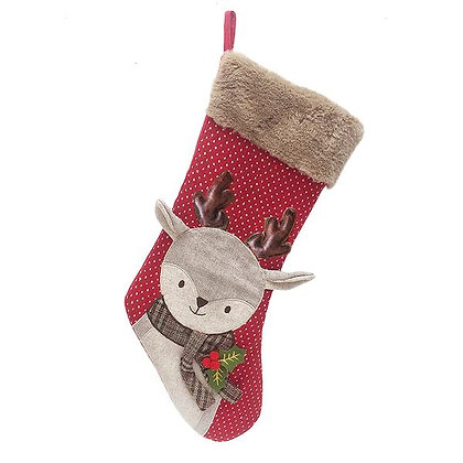 Mon Ami Reindeer Stocking