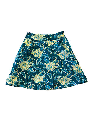 Jade Brocade Skirt