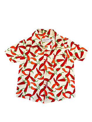 Boy Collared Shirt, Chili Peppers