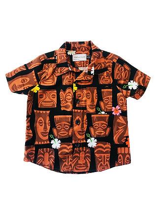 Boy Collared Shirt, Tiki