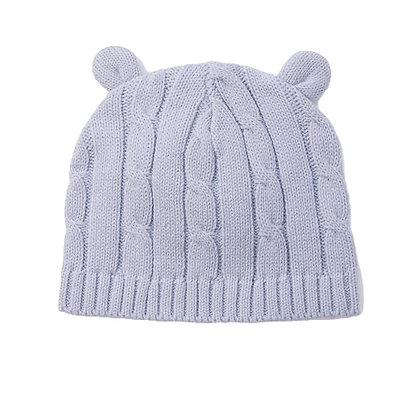 Elegant Baby Cable Knit Hat