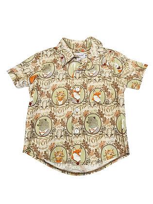 Boy Collared Shirt, Mr. Fox
