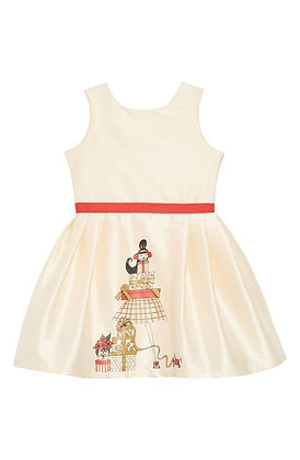 Holiday Presents Girl Dress