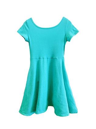 Capri Skater Dress, Jade