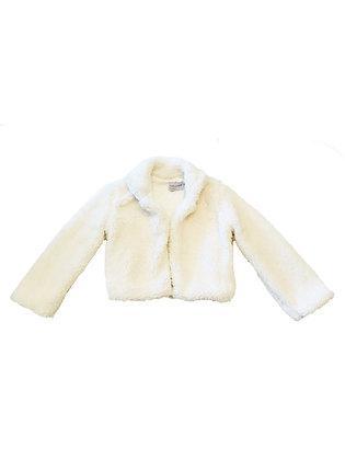 Teddy Bear Coat, Ivory