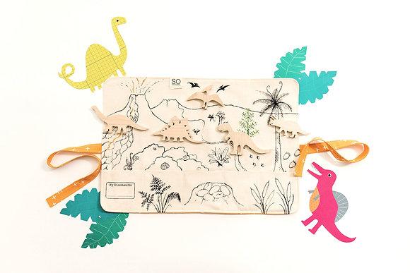 SoHandmade Dinosaur Playmat