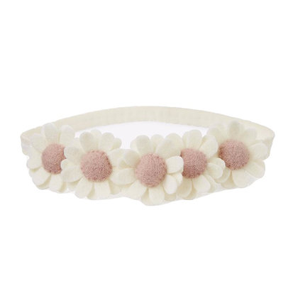 Elegant Baby Flower Crown Headband