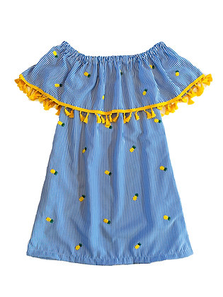 Catalina Dress, Pineapples