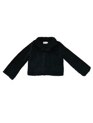 Teddy Bear Coat, Black