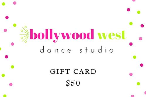 BW E-Gift Card -$50