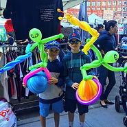 Evan Presto, Balloon Twister NYC, Berlin Talent Inc.