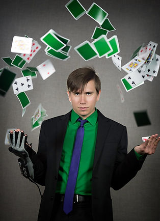 Mike Patrick Magician Headshot