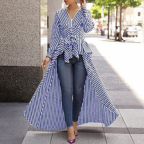 Striped cape shirt.dress.jpg