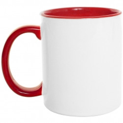 Mug color interno y oreja 11 Oz Rojo.jpg