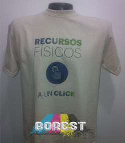 camiseta recursos