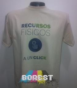 camiseta recursos