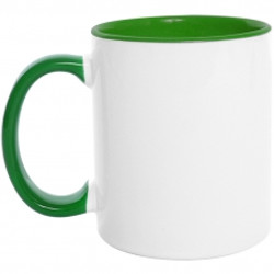 Mug  color interno y oreja 11 Oz Verde.jpg