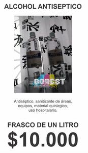 alcohol anticeptico