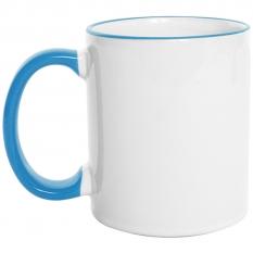Mug  Borde de Color 11 Oz Azul claro.jpg