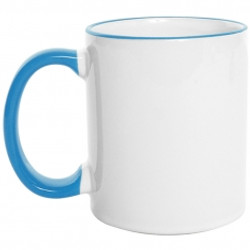 Mug  Borde de Color 11 Oz Azul claro.jpg