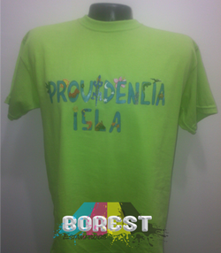 camiseta providencia isla
