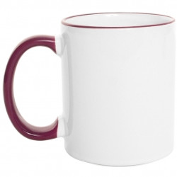 Mug Borde de Color 11 Oz Vinotinto.jpg