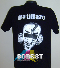 camiseta gatillazo