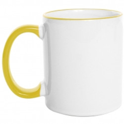 Mug  Borde de Color 11 Oz Amarillo.jpg