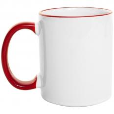 Mug  Borde de Color 11 Oz Rojo.jpg
