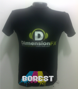 camiseta dimension fx