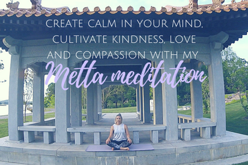 Generate kindness and compassion - guided Metta Meditation download
