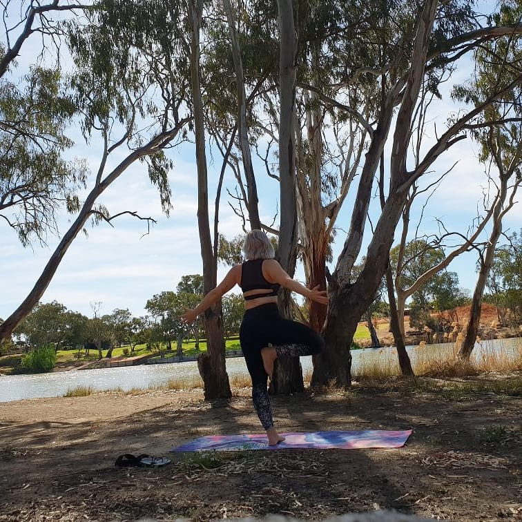 Yoga by the Murray River
