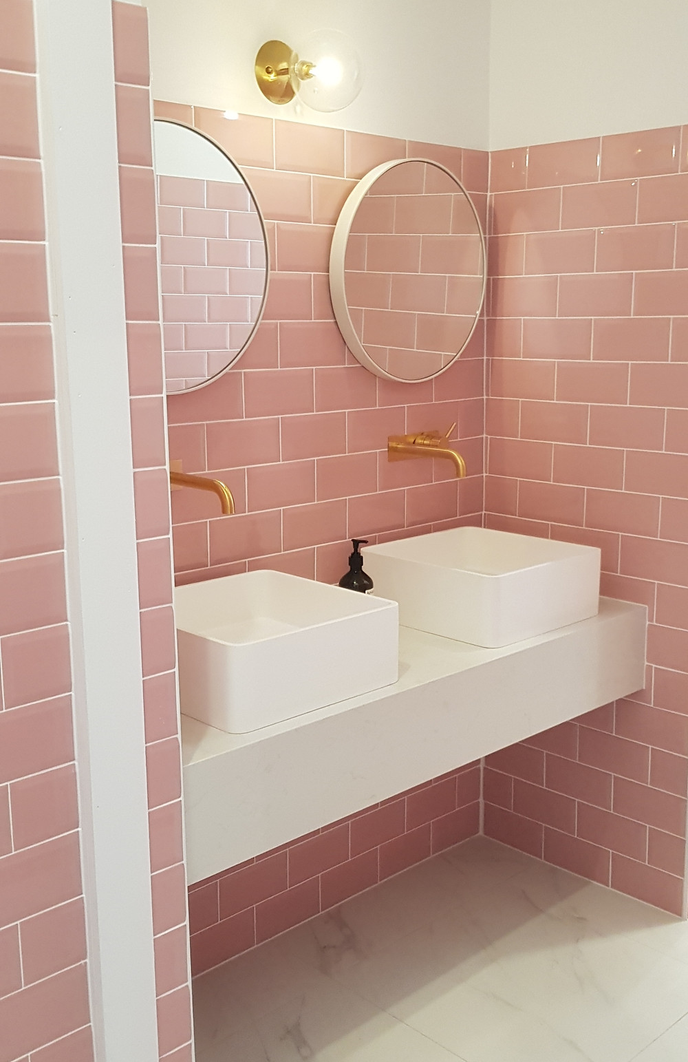 The Social Club Kingston, pretty pink toilets