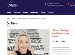 Women in Innovation interview CBRIN