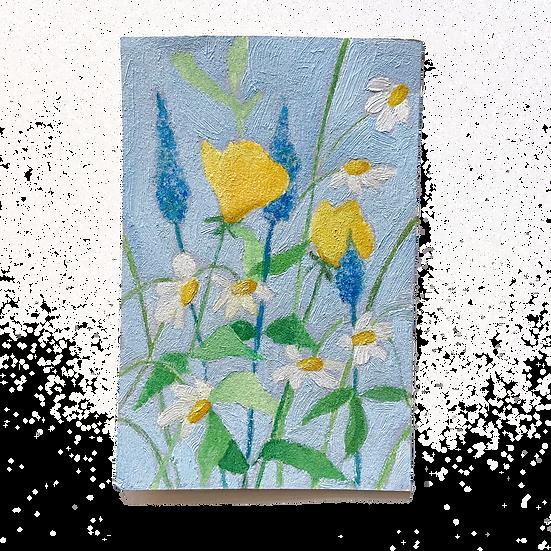 Mini Floral Blue 1