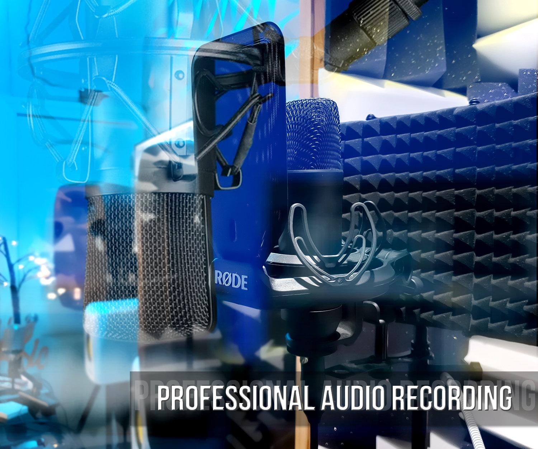 Audio Recording & Light Mix (4hr Block)