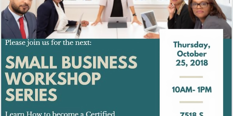 Small Business Workshop Series: MBE Certification