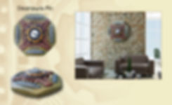 "3-D custom wall sculpture art by di Boor Art. ""Steampunk Pin"". Gallery image."
