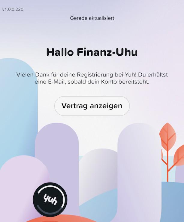 Yuh, Finanzblog Schweiz, Finanz-Uhu, Testbericht