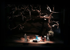 Opening of Act 1 - Betty's bedroom